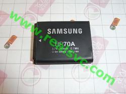 Аккумулятор BP70A; BP70 для фотоаппаратов SAMSUNG