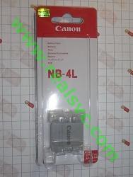 купить Аккумулятор NB-4L для фотоаппаратов Canon