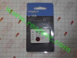 Аккумулятор Li-80B для фотоаппаратов OLYMPUS T100, T110, X960, X36
