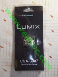 Аккумулятор DMW-BCD10, CGA-S007, CGA-S007A, CGA-S007E, CGA-S007A/1B, CGA-S007E/1