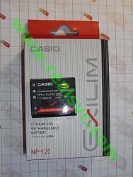 Оригинальный Аккумулятор NP-120 для фотоаппаратов CASIO