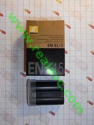 Аккумулятор EN-EL15 для фотоаппаратов NIKON - высококачественная копия, под ориг