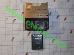 Аккумулятор EN-EL10 для фотоаппаратов NIKON - высококачественная копия, под ориг