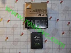Аккумулятор EN-EL12 для фотоаппаратов NIKON