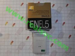 Аккумулятор EN-EL5 для фотоаппаратов NIKON - высококачественная копия, под ориг.