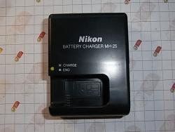 Зарядное устройство Nikon MH-25 для аккумулятора Nikon EN-EL15 - копия