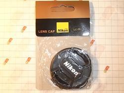 Защитная крышка для объективов Nikon 58mm, 58мм