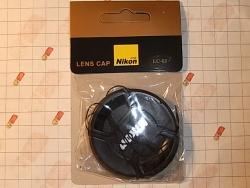 Защитная крышка для объективов Nikon 62mm, 62мм