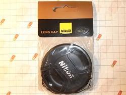 Защитная крышка для объективов Nikon 72mm, 72мм